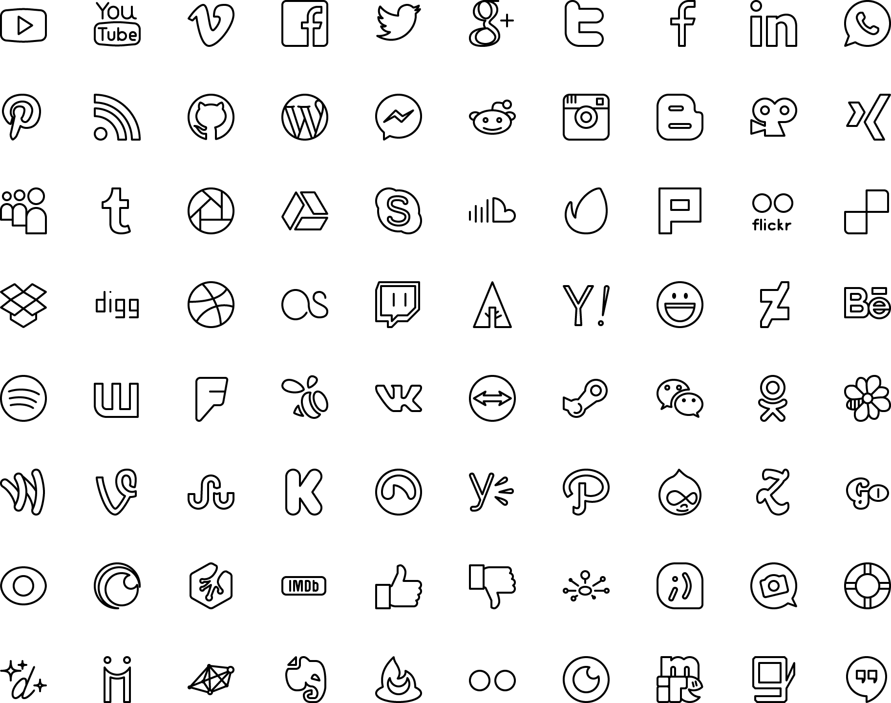 Preview Count_icons Icons Vector Line And Solid Icons Collection