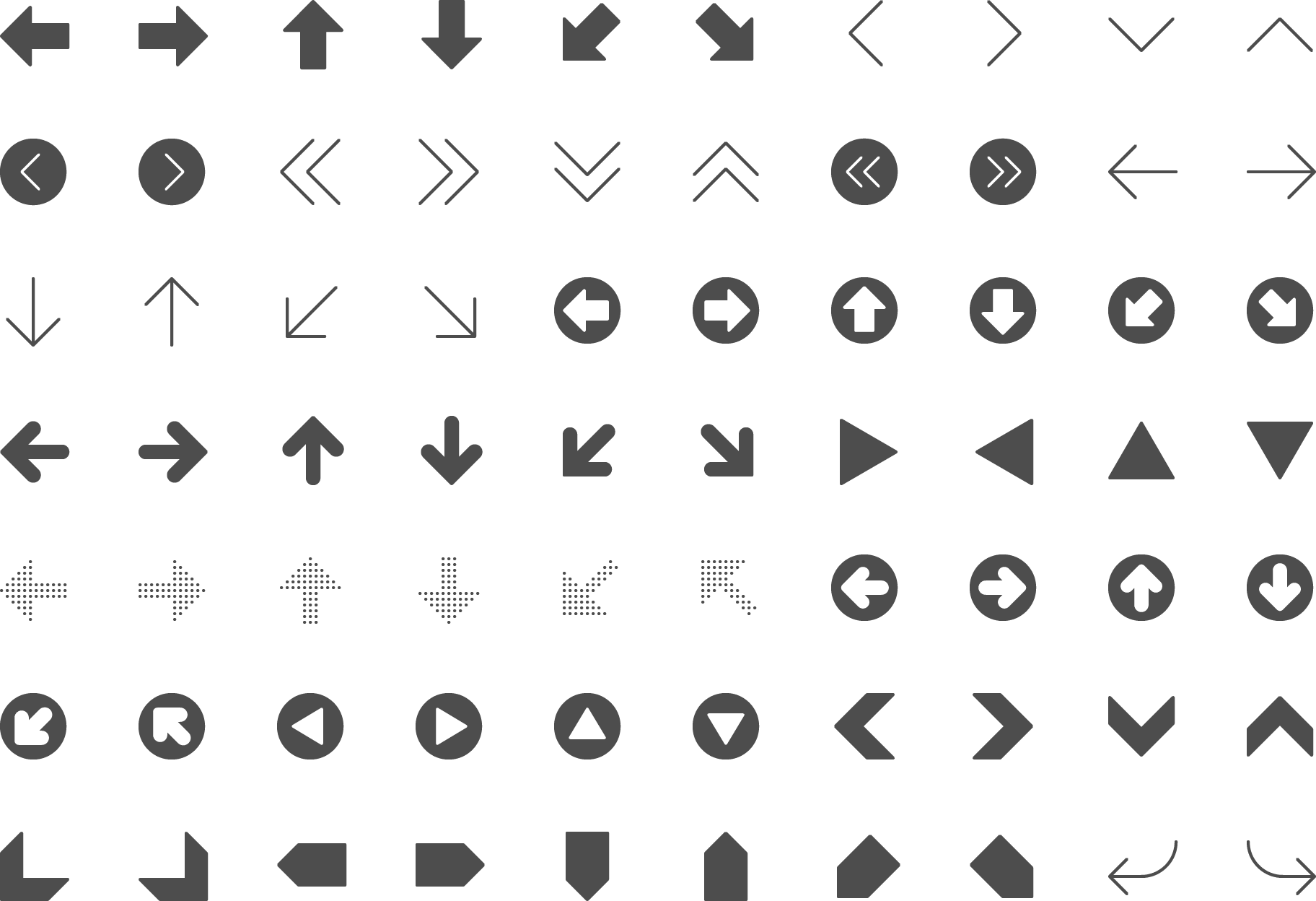 icon Arrows