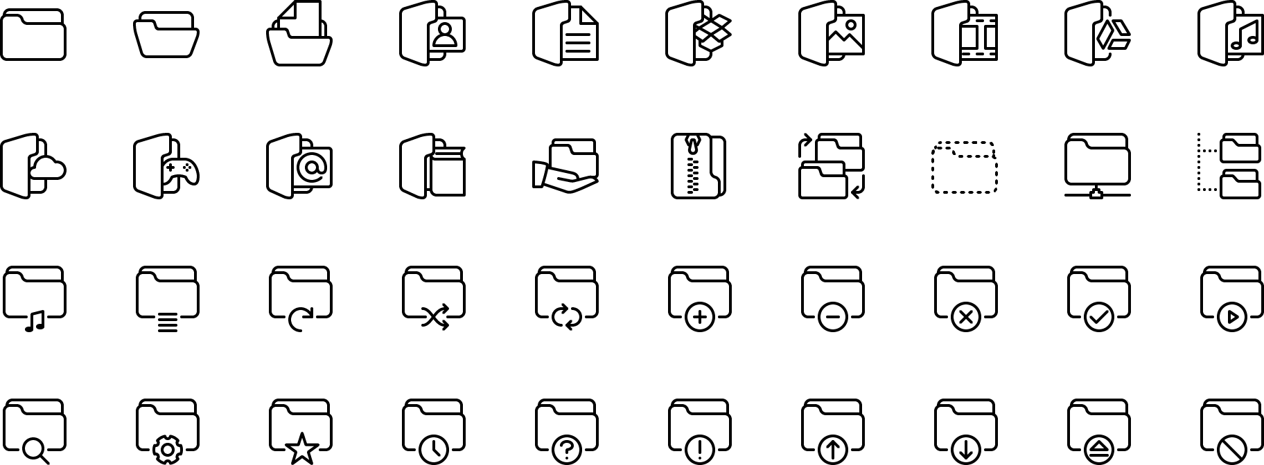 Preview Counticons Icons Vector Line And Solid Icons Collection