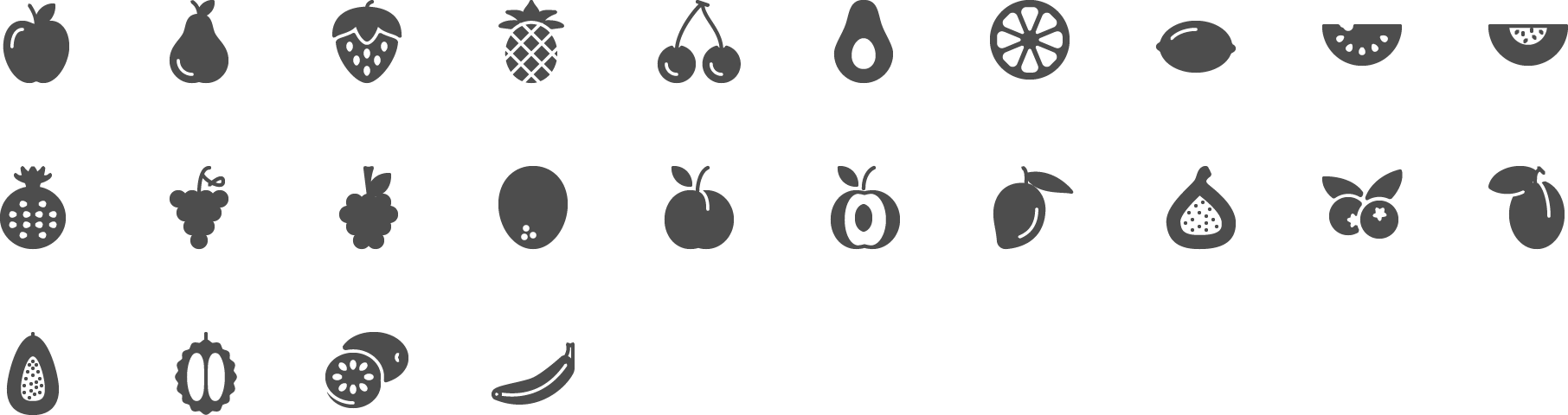 icon Fruits