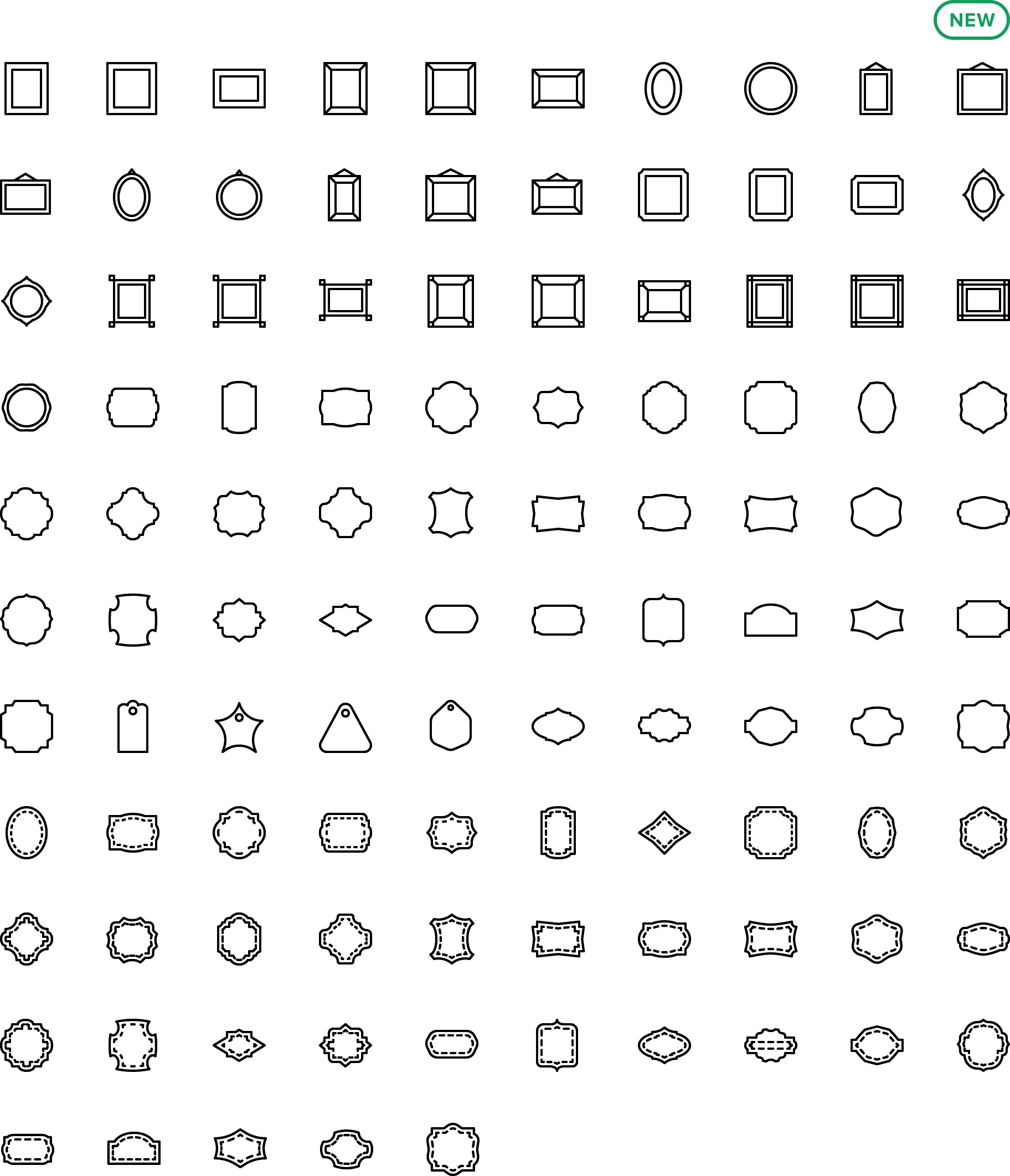 icon Frames