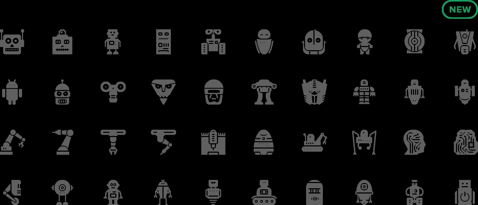 icon Robots